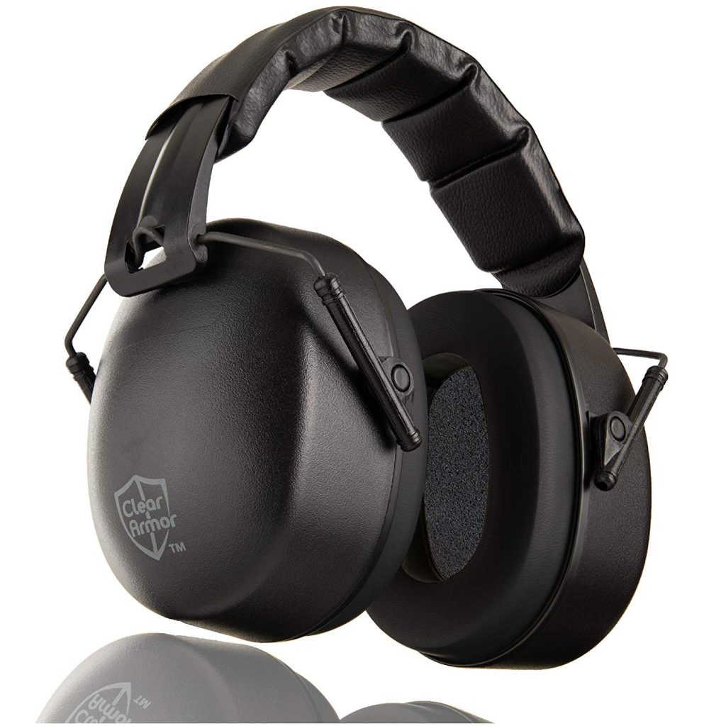 Best Ear Protection for Shooting - ClearArmor 141001 Safety Ear Muffs