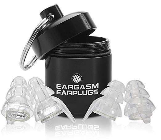 Best earplugs for musicians - Eargasm High Fidelity Earplugs