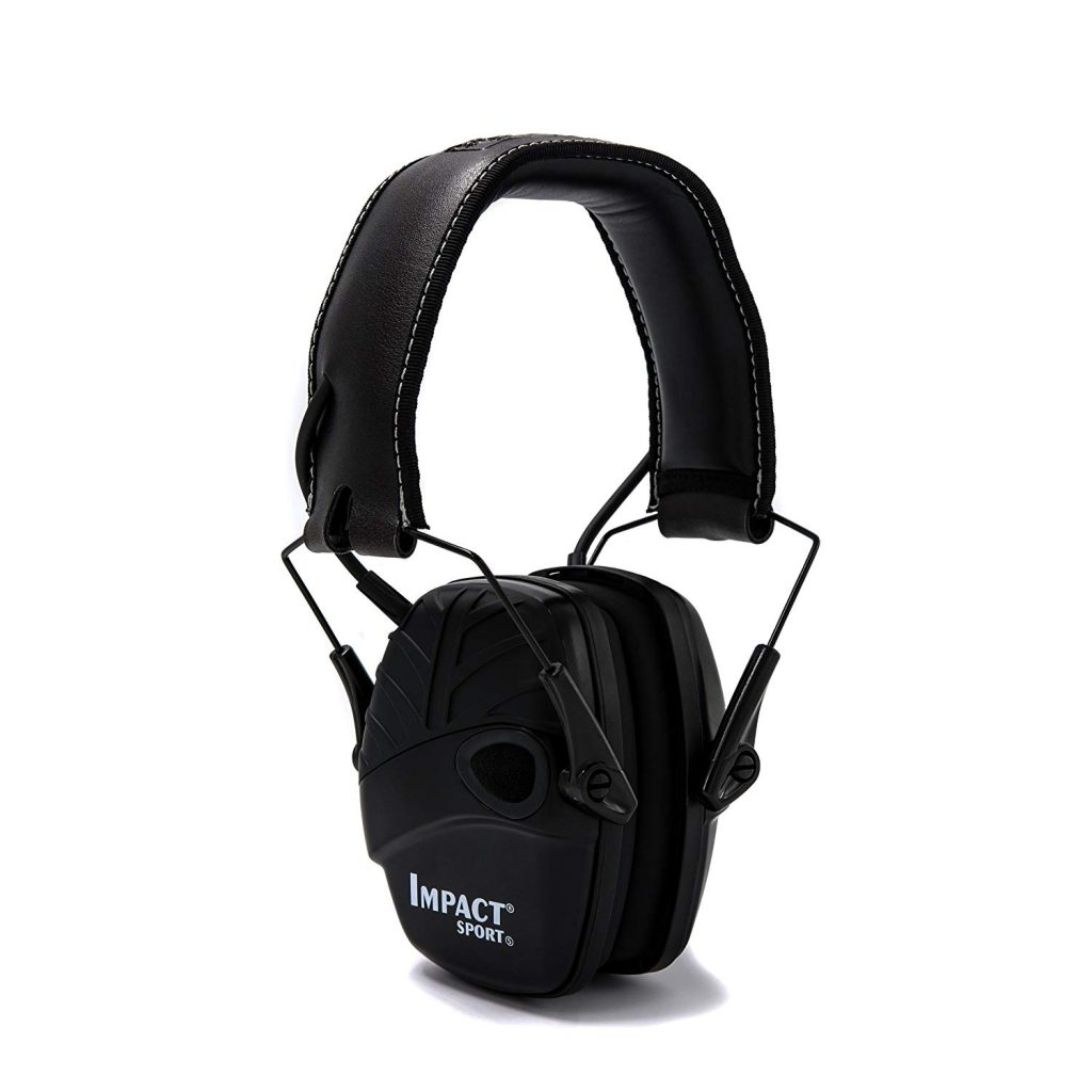 Best Ear Protection for Shooting - Howard Leight Impact Sport Earmuffs by Honeywell