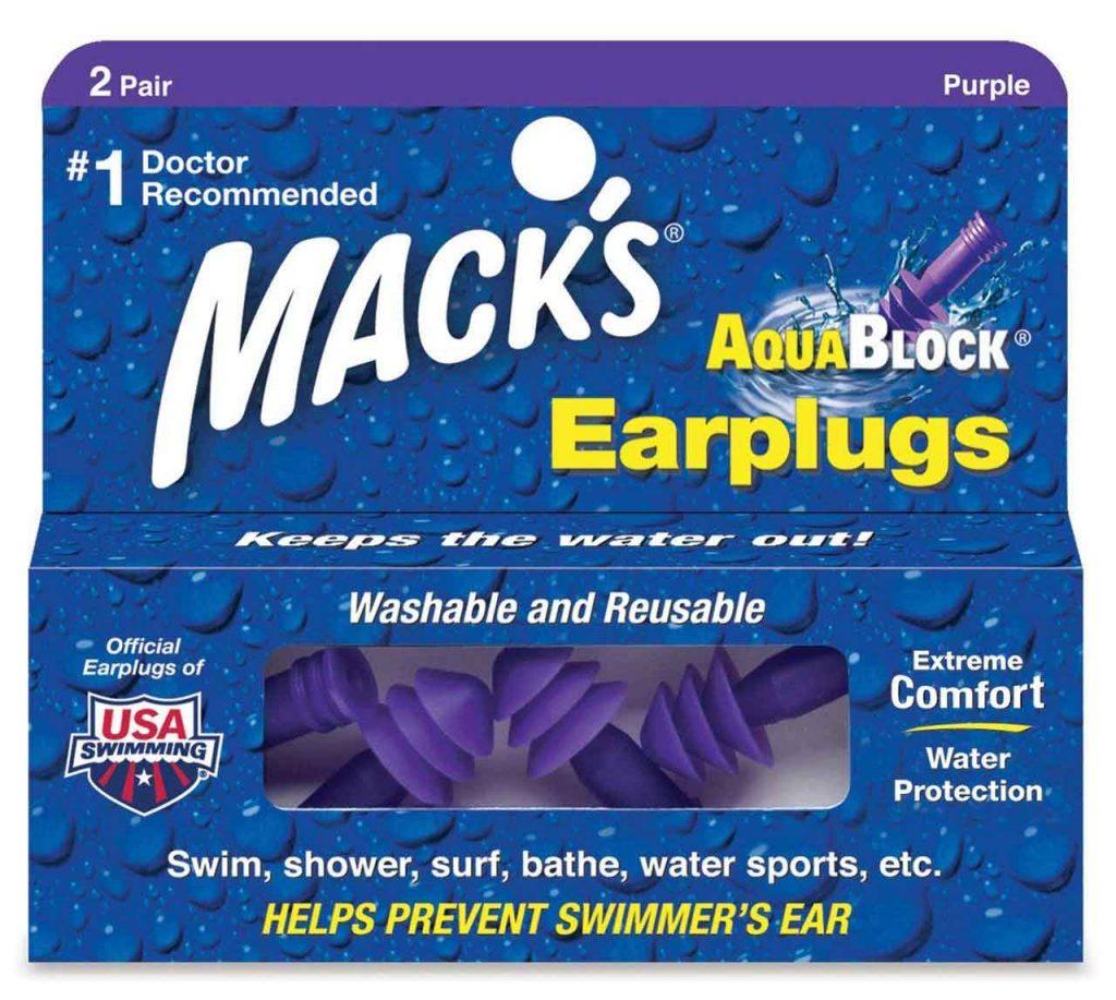 Mack's AquaBlock Earplugs