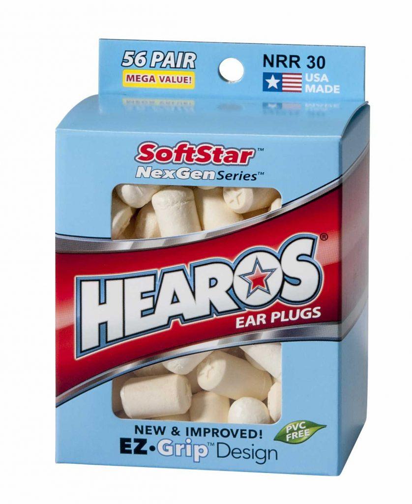 Hearos earplugs