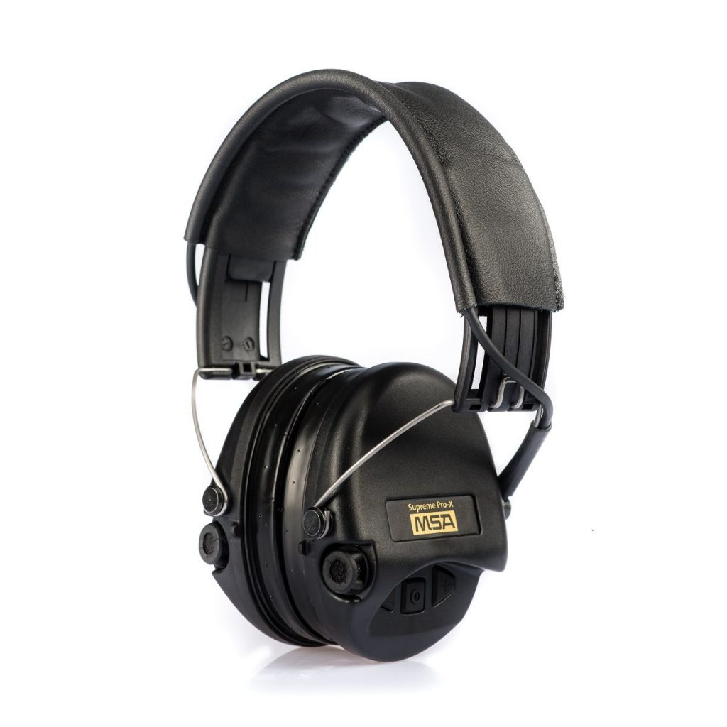 Best ear protection for shooting - Sordin Supreme Pro X by Starkey Electronic Earmuffs