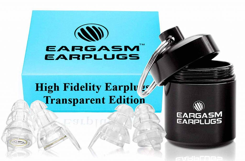 Best earplugs for live music - Eargasm High Fidelity Earplugs